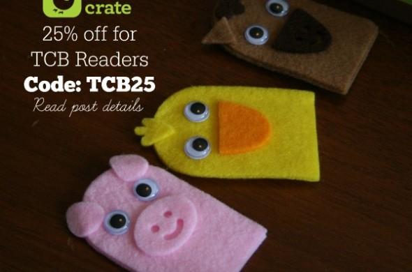 Crafting with Kids | Kiwi Crate | TodaysCreativeBlog.net