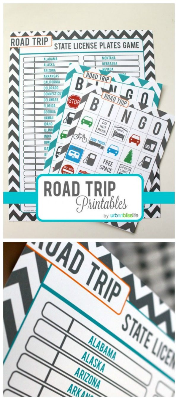 photograph about Free Printable Road Trip Games known as Street Vacation Online games for Children - Cost-free Printables Todays
