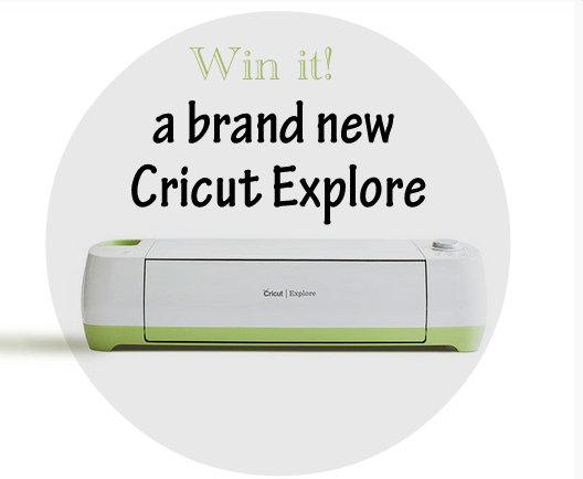 Cricut Explore giveaway
