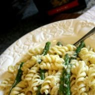 Dreamy Creamy Asparagus Chicken Rotini | TodaysCreativeBlog.net