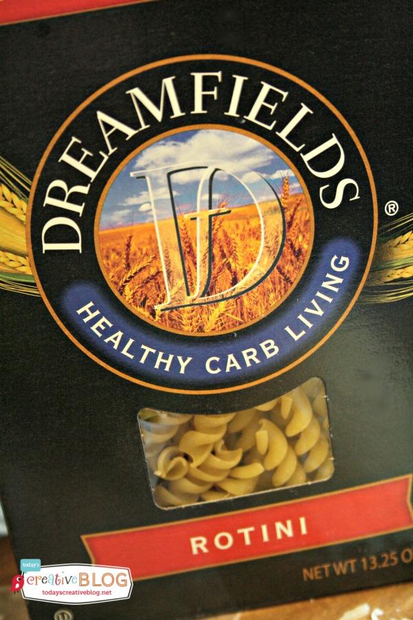 Dreamy Creamy Asparagus Chicken Rotini | TodaysCreativeBlog.net