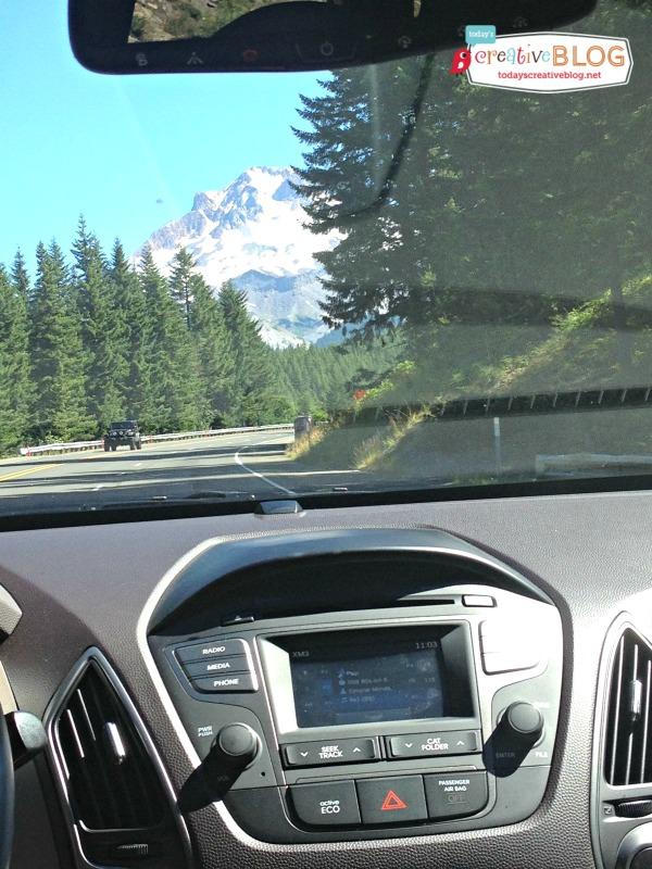 Going to the Lake | Mt Hood- Hyundai | TodaysCreativeBlog.net