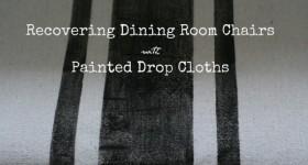 Painted Drop Cloths
