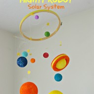 Ricky Ricotta's Mighty Robot DIY Solar Galaxy