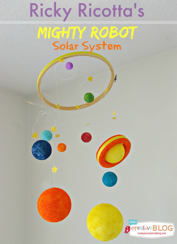 DIY Solar Galaxy | TodaysCreativeBlog.net