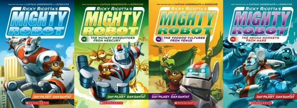 Ricky Ricotta's Book Series