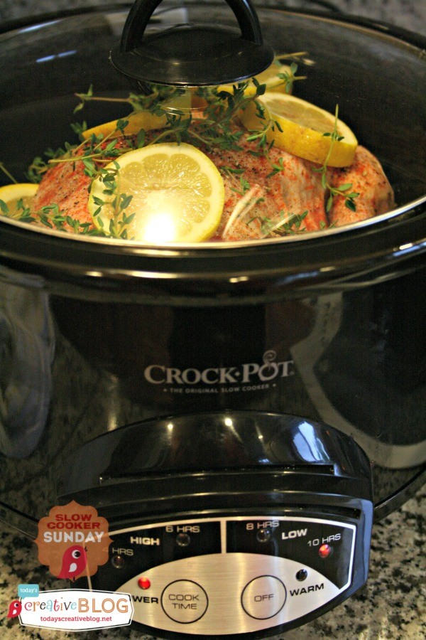Slow Cooker Whole Chicken TodaysCreativeblog.net