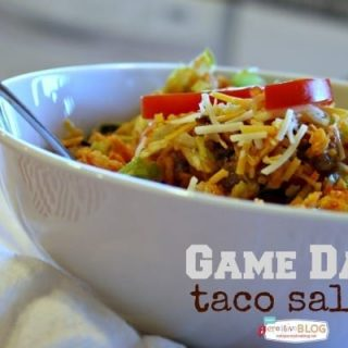 Game Day Taco Salad | TodaysCreativeBlog.net