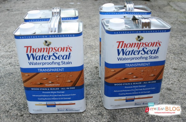 Thompson's Water Seal TodaysCreativeBlog.net