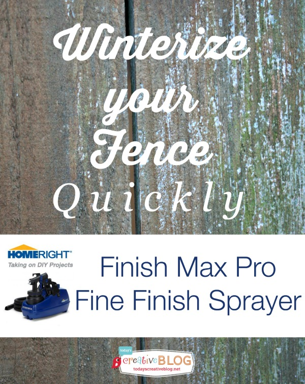 Winterize Your Fence |TodaysCreativeBlog.net