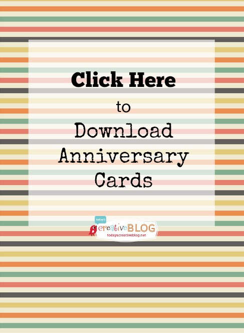 anniversary card download
