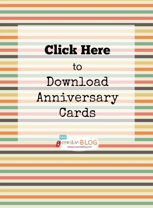 photograph regarding Printable Anniversary Cards called Printable Pleased Anniversary Playing cards editable Todays