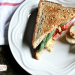 Easy Breakfast Sandwich | TodaysCreativeBlog.net