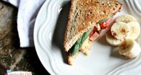 Easy Breakfast Sandwich   TodaysCreativeBlog.net