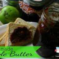 Crockpot Apple Butter Recipe | Slow Cooker Sunday | TodaysCreativeBlog.net