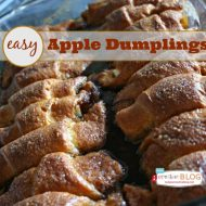 Quick and Easy Apple Dumpling Recipe
