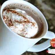 Crockpot Hot Chocolate with Nutella