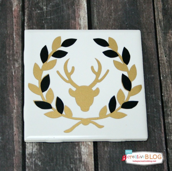 DIY Gifts - Holiday Coasters | TodaysCreativeblog.net