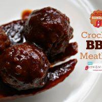 Crockpot BBQ Meatballs Recipe