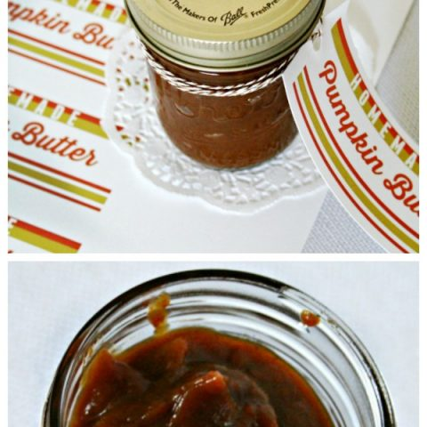 Crockpot Pumpkin Butter Recipe | Slow Cooker Fall Recipes using Pumpkin pie spice. Real pumpkin recipes | TodaysCreativeLife.com
