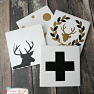 DIY Gifts – Holiday Coasters