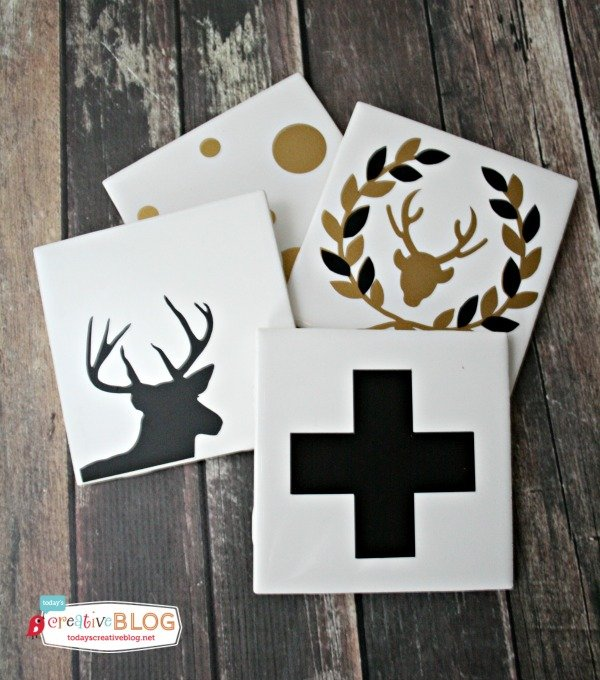 DIY Gifts - Holiday Coasters