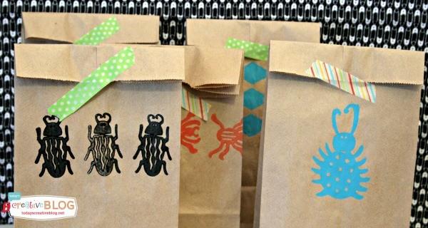 DIY Birthday Goodie Bags | TodaysCreativeLife.com