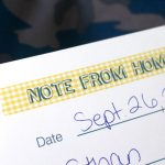 Free Printable Note From Home designed by UrbanBliss | TodaysCreativeblog.net