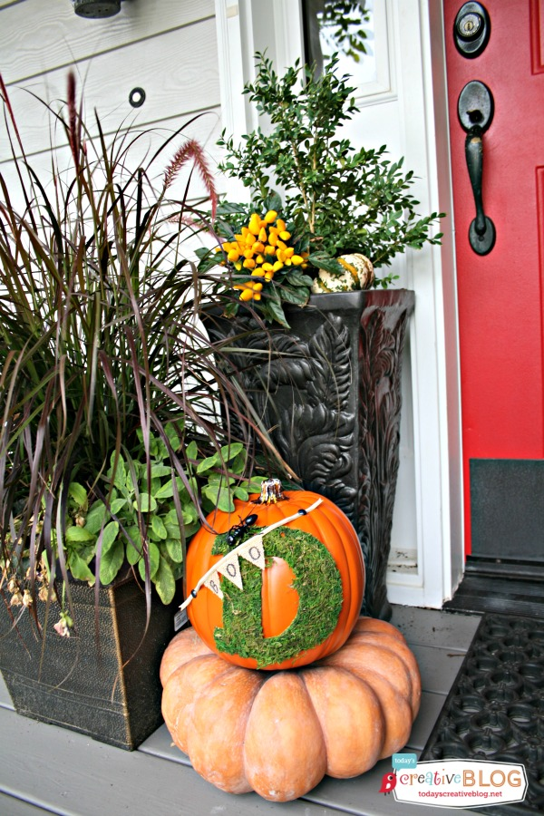 Trick Your Pumpkin | TodaysCreativeBlog.net