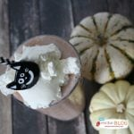 Caramel Pumpkin Cream Milkshake | TodaysCreativeBlog.net