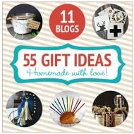 55 Homemade Holiday Gift Ideas | TodaysCreativeblog.net
