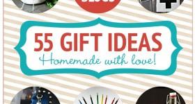 55 Homemade Holiday Gift Ideas | TodaysCreativeblog.net