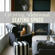 Holiday Entertaining | Creating Additional Seating