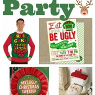 Ugly Christmas Sweater Party! {Link Party Palooza}