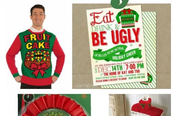 Ugly Christmas Sweater Party | TodaysCreativeBlog.net