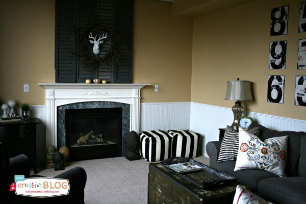Holiday Entertaining | Creating Additional Seating  | TodaysCreativeBlog.net