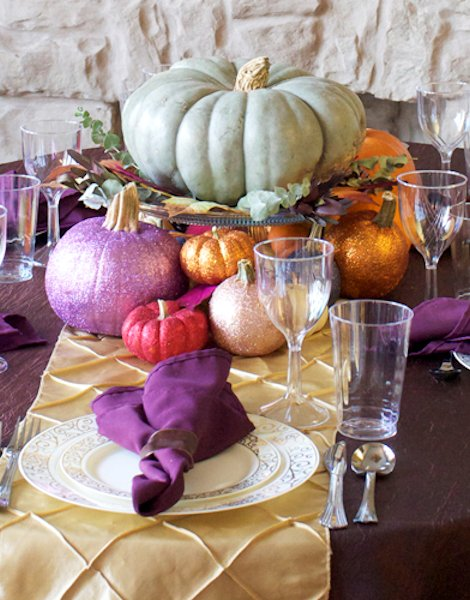 10 Creative Thanksgiving Table Settings | TodaysCreativeBlog.net & 10 Creative Thanksgiving Table Settings | Todayu0027s Creative Life