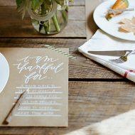 10 Creative Thanksgiving Table Settings | TodaysCreativeBlog