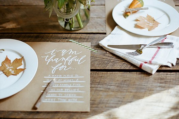 10 Creative Thanksgiving Table Settings | TodaysCreativeBlog
