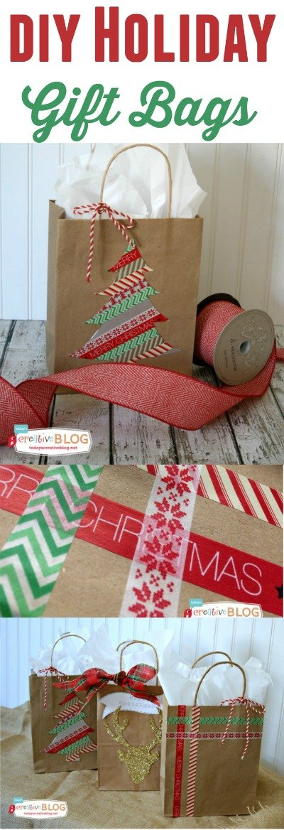 Chocolate Covered Candy Canes - On Sutton Place |White Christmas Diy Gift Bags