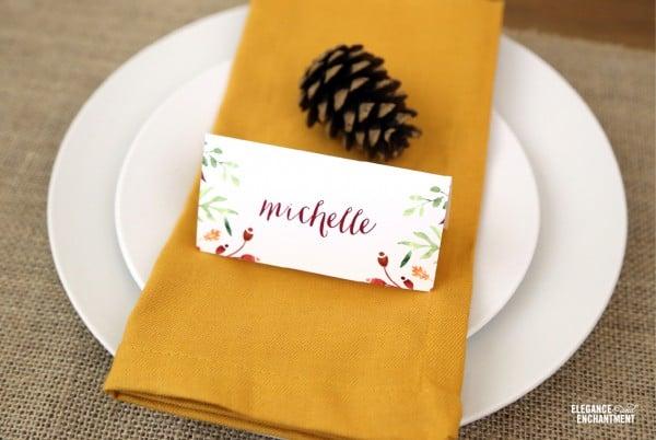 Free Thanksgiving Table Printables   TodaysCreativeBlog.net