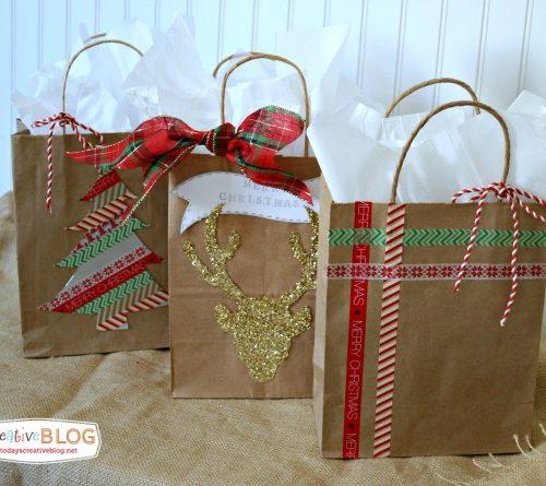 Easy Gift Wrap Ideas | TodaysCreativeLIfe.com