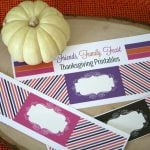 Printable Thanksgiving Napkin Rings | TodaysCreativeBlog.net