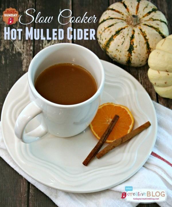 Slow Cooker Hot Mulled Cider | TodaysCreativeBlog.net