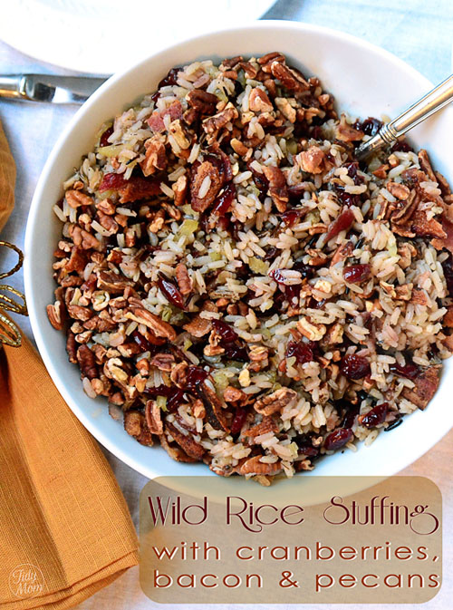 Wild Rice Stuffing from TidyMom.net