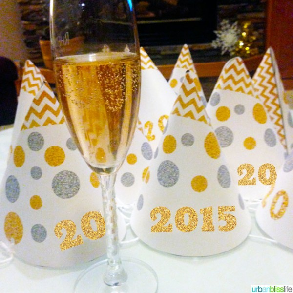 2015 NYE PRintable Hats