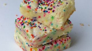 Cake Batter Sugar Cookie Bars