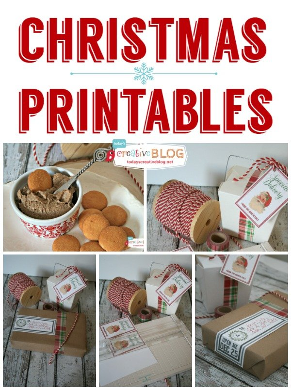 Christmas PRintables  TodaysCreativeBlog.net