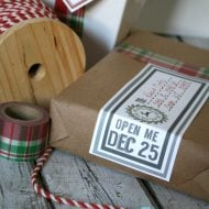 Printable Holiday Mailing Labels