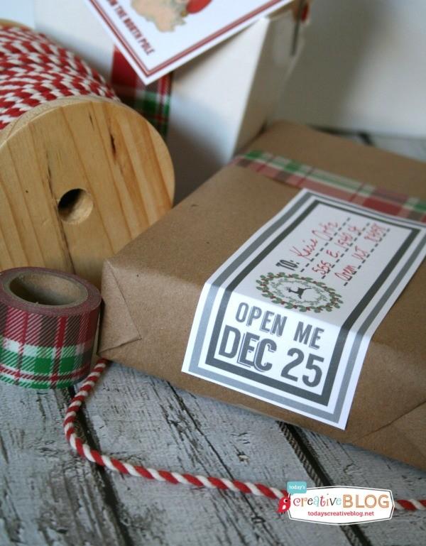 Printable Holiday Mailing Labels | TodaysCreativeblog.net
